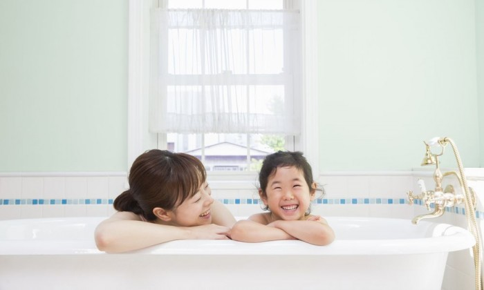 お風呂で子どもを伸ばす入浴法とは!~毎日の入浴タイムを有効活用~