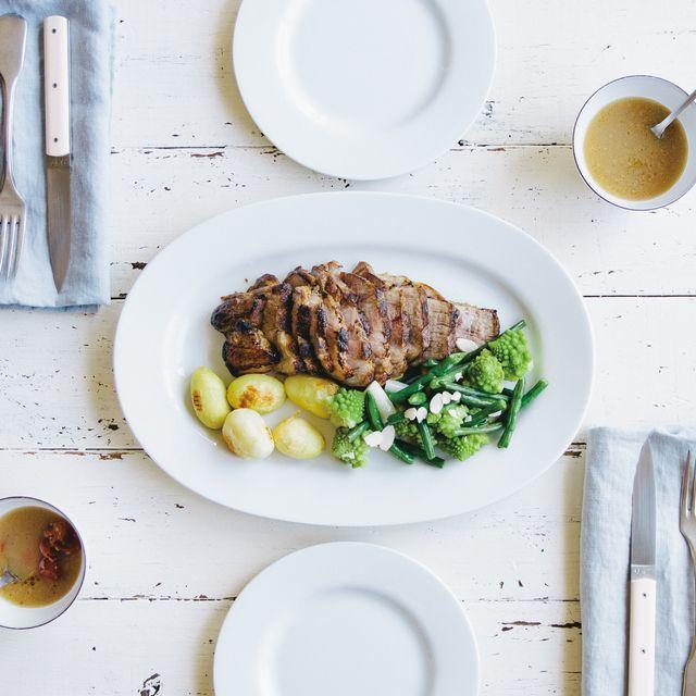 6_館ヶ森高原豚と西洋野菜のこんがりグリル