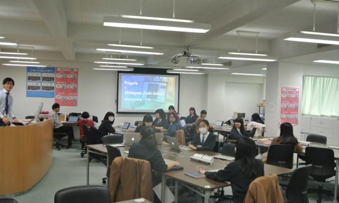 女子ならではの工夫も!品川女子学院×Progateプログラミング授業に潜入!