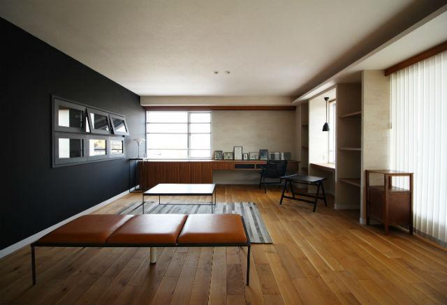 LDKの収納や壁の利用、勉強スペース