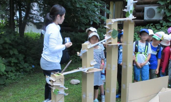 巨大ピタゴラ装置づくりも!伸芽会が手掛ける学童サマーキャンプとは?