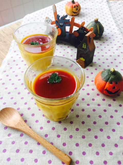 2かぼちゃプリン
